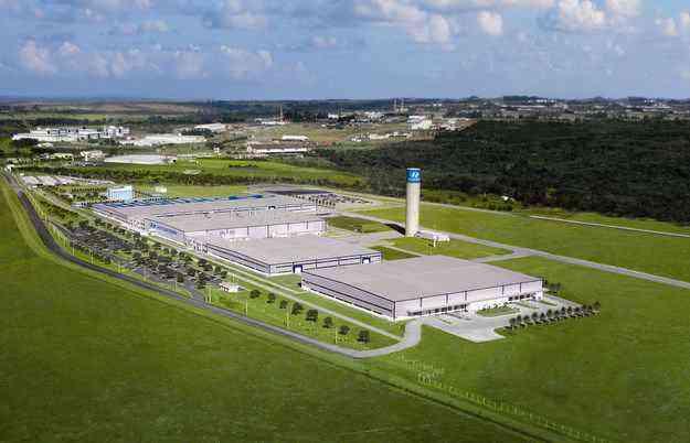 Em Anápolis, a Hyundai produz Tucson, ix35 e os caminhões HD 78 e HR - Hyundai/ divulgação