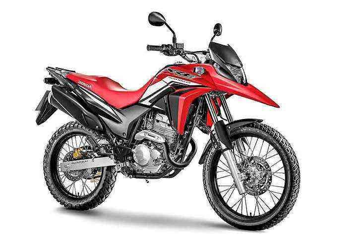Os freios podem ser ABS de frenagem combinada  - Honda/Divulgação