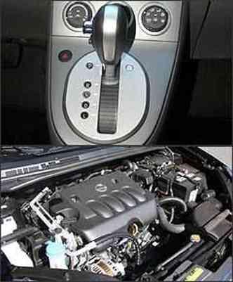 Câmbio CVT tem infinitas relações de transmissão. Motor 2.0 16V desenvolve 142 cv de potência