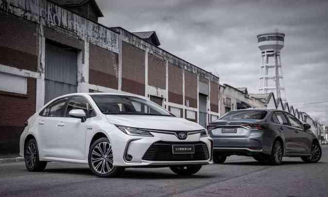 Toyota Corolla chegou modernizado e com versão híbrida flex: levou o prêmio