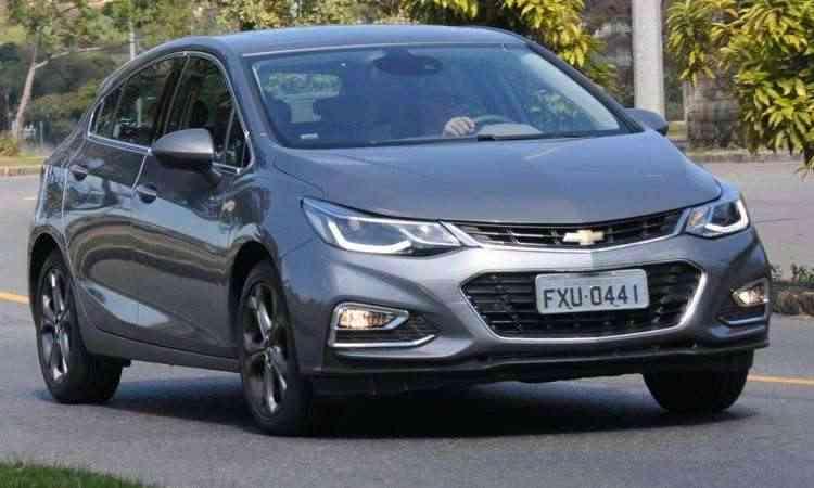Assustador constatar que o Chevrolet Cruze Sport6 custa a partir de R$ 93.990 - Beto Novaes/EM/D.A Press