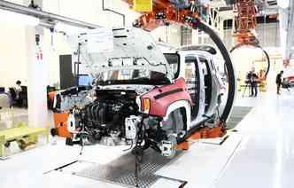 Com os incentivos do Inovar-Auto, oito novas fábricas de veículos foram inauguradas no Brasil dentro dos quatro anos de vigência do programa(foto: Paulo Paiva/DP)