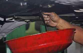O filtro de óleo é um dos que podem ser falsificados. Foto: Thalyta Tavares / Esp. DP