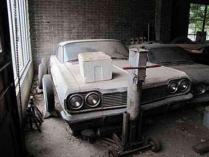 Oficina da revenda GM conservou alguns dos modelos em estado 0 km. Veja mais fotos(foto: Divulgação)