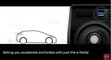 O motorista é quem escolhe se quer usar o sistema - Nissan / Divulgação
