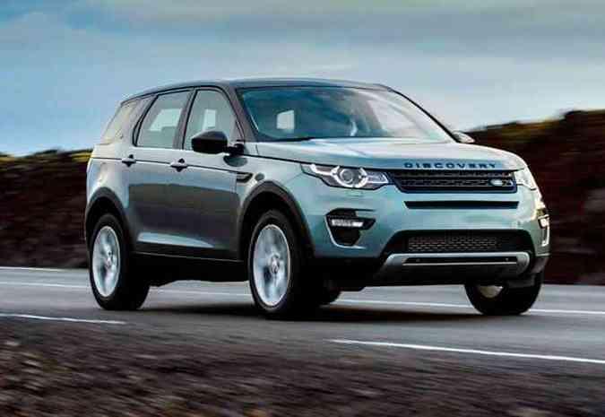 O utilitário-esportivo compacto premium será fabricado no Brasil em 2016, mas já começa a ser vendido no país neste semestre(foto: Land Rover/Divulgação)