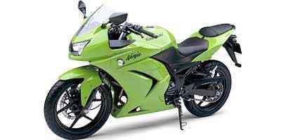 Linhas da Ninja 250R lembram propositalmente o das primas maiores - Fotos: Kawasaki/Divulgação
