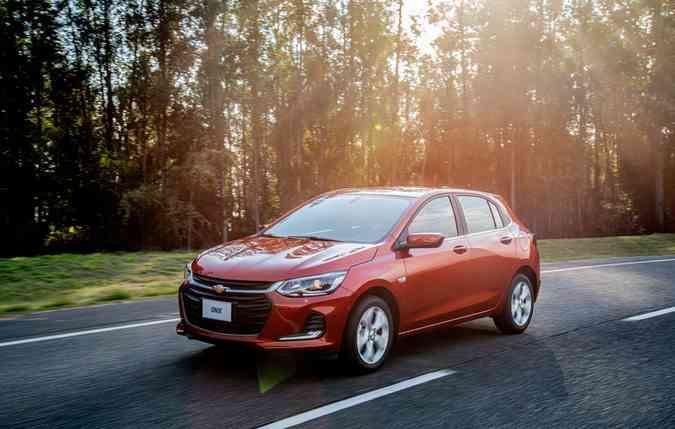 Nova Geração do Chevrolet Onix. Foto: Chevrolet/ Divulgação