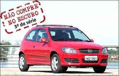Chevrolet Celta é o modelo abordado na série que aponta os problemas crônicos de carros nacionais - Marlos Ney Vidal/EM/D.A Press - 25/5/06