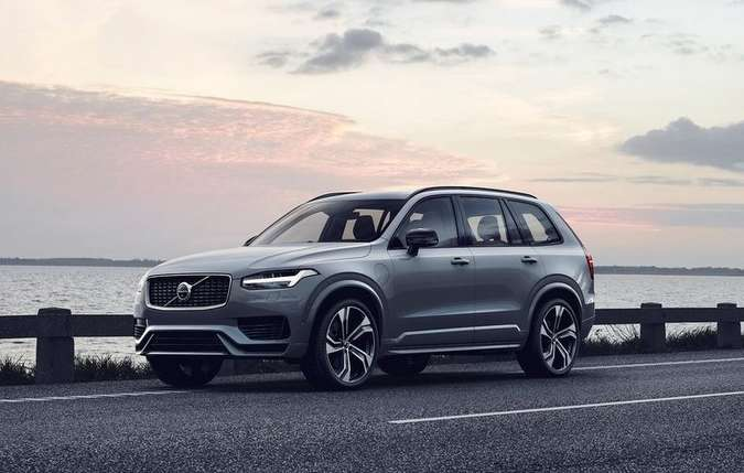 O Volvo XC90 recém-apresentado é o primeiro modelo de produção que, em combinação com o sistema autônomo do Uber, é capaz de dirigir sozinho. Foto: Divulgação.