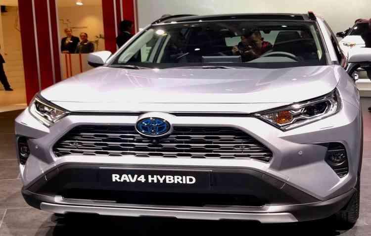 Toyota RAV4 no Salão de Paris  - Jorge Moraes/ DP