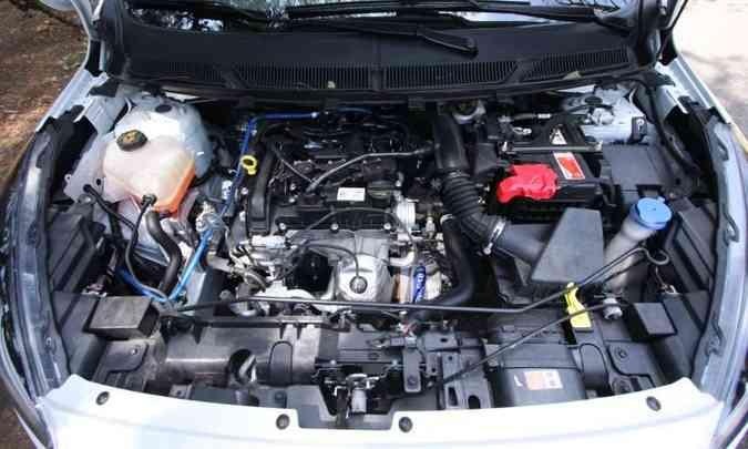 O motor precisa funcionara para que as partes móveis sejam lubrificadas, evitando também o ressecamento de mangueiras(foto: Edésio Ferreira/EM/D.A Press)