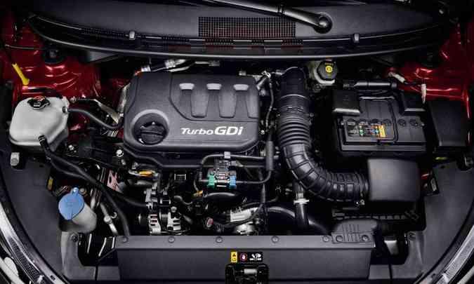 Novo motor 1.0 turbo tem 120cv(foto: Hyundai/Divulgação)