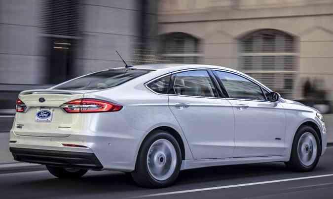 Fusion Hybrid é vendido por R$ 160.900(foto: Ford/Divulgação)