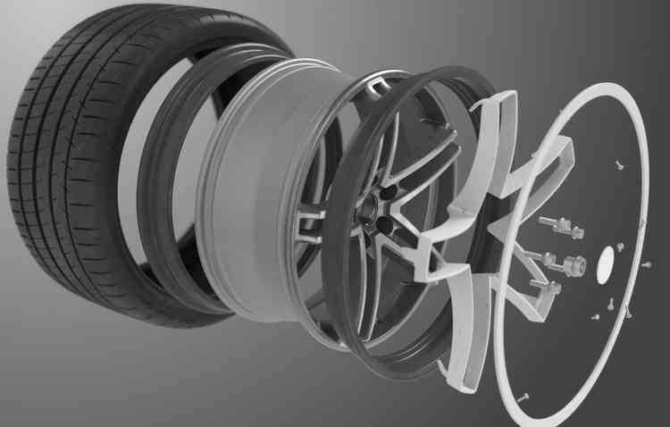 Tecnologia foi feita para qualquer marca de pneu. Foto: Michelin / Divulgação -