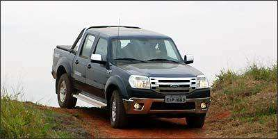 Ford Ranger 2.3 gasolina cabine simples 4x2 custa menos e é voltada para frotistas - Ford/Divulgação