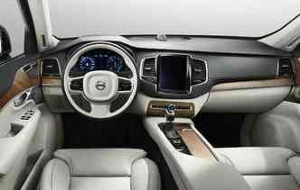 Lista de equipamentos é igual ao modelo movido a gasolina(foto: Volvo/Divulgação)
