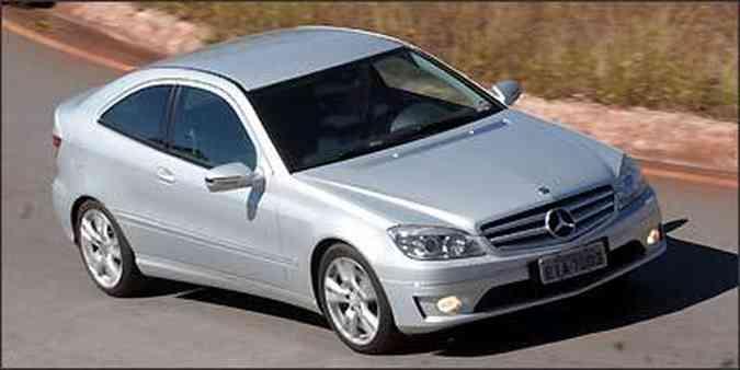 O CLC 200 K é produzido na fábrica da Mercedes em Juiz de Fora, em Minas Gerais(foto: Marlos Ney Vidal/EM/D.A Press - 17/07/2009 )