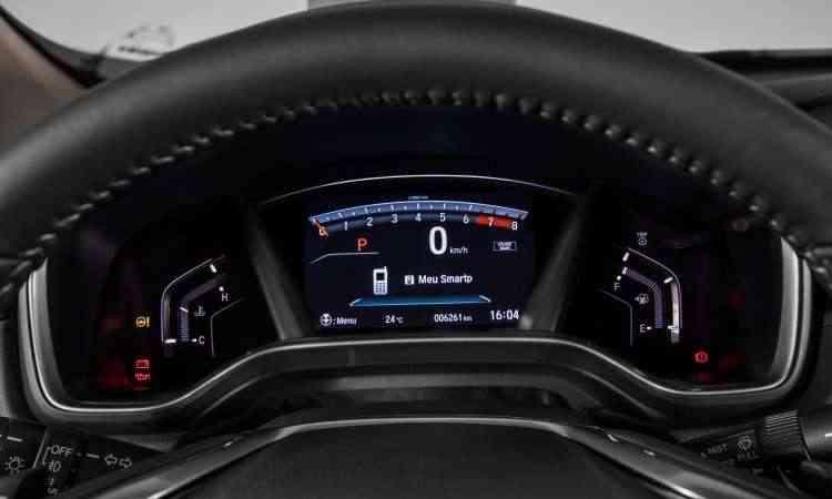 O painel de instrumentos é totalmente digital, com tela configurável de sete polegadas - Honda/Divulgação
