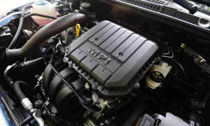 Motor 1.0 de três cilindros é mais eficiente em desempenho e reduz muito consumo(foto: Euler Júnior/EM/D.A Press)