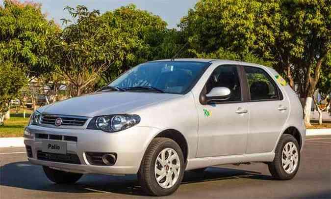 Palio foi o mais vendido em outubro: número soma as duas gerações do modelo(foto: Fiat/Divulgação)