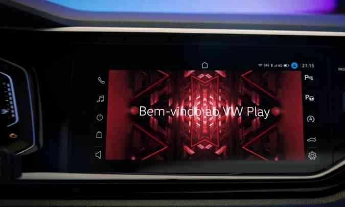 Um dos destaques do modelo será a nova central multimídia com Wi-Fi nativo(foto: Volkswagen/Divulgação)