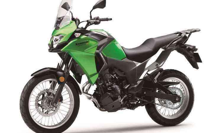 O motor de dois cilindros fornece 39cv de potência - Kawasaki/Divulgação