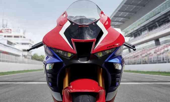 As asas estão presentes na carenagem da RR-R(foto: Honda/Divulgação)