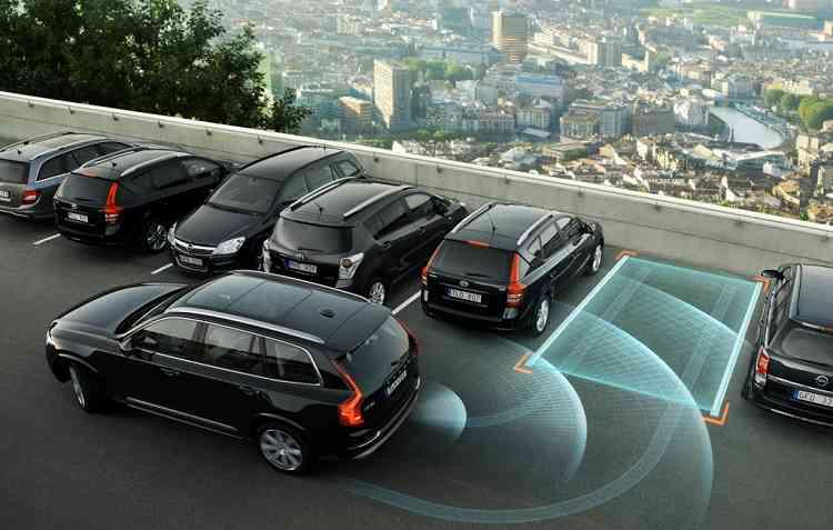 Volvo, BMW, Volkswagen são algumas das montadoras que já contam de série com o sistema de Park Assistent nos carros. Foto Tuning Parts/ Divulgação -