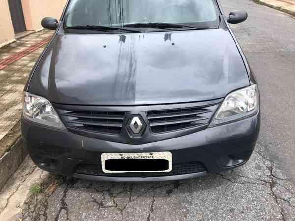 Renault Logan Authentique Hi-flex 1.0 16v 4p 2008 R$ 14.000,00 MG VRUM