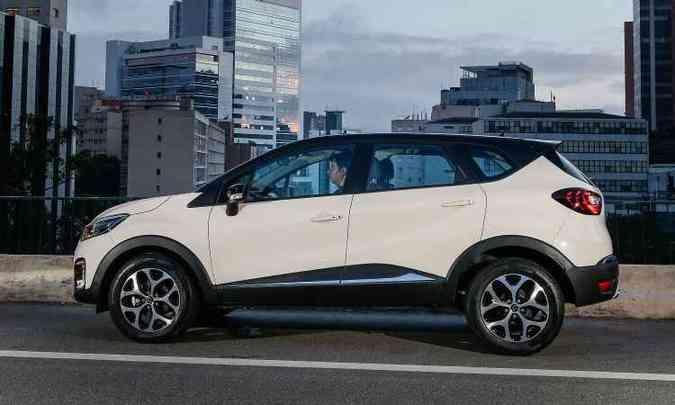 Comprimento e entre-eixos são idênticos aos do Duster(foto: Renault/Divulgação)