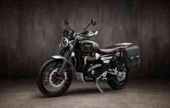 Scrambler 1200 é apresentada com motor atualizado. Foto: Triumph / Divulgação