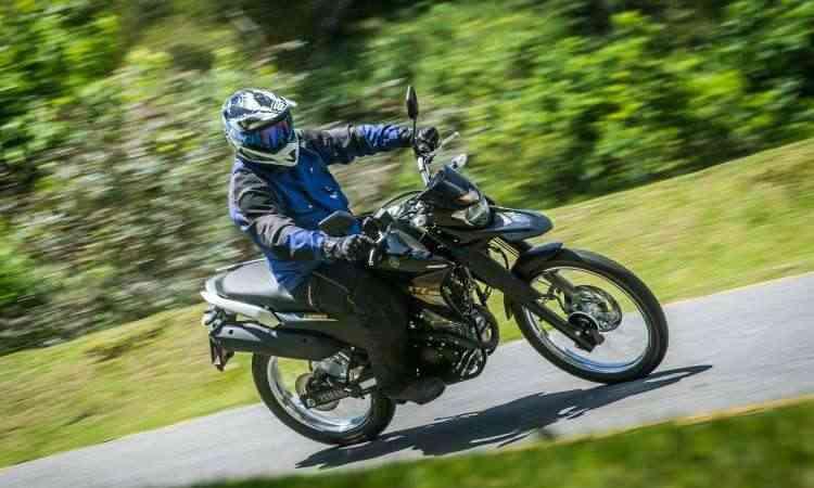 Visual foi inspirado na robusta trail XT 660R - Gustavo Epifânio/Yamaha/Divulgação