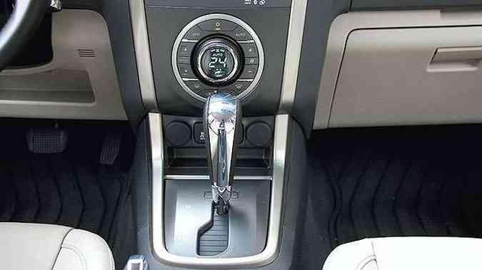 O câmbio automático convencional tem conversor de torque em vez de embreagem...(foto: Marlos Ney Vidal/EM/D.A Press - 24/10/13)