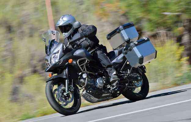 Suzuki V-Strom 650XT já traz de série freios ABS - Suzuki/Divulgação