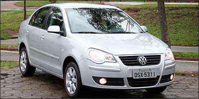 Sensor de estacionamento não equipa de série o Polo, que é vendido com o acessório por mais R$ 660 - Marlos Ney Vidal/EM/D.A Press - 7/11/06