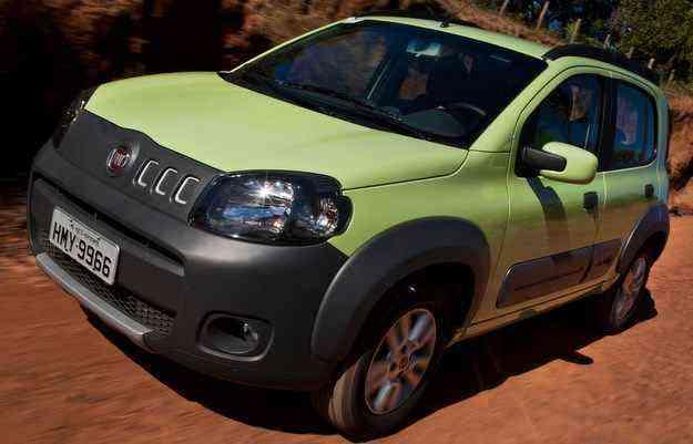Uno despenca em vendas e é o nono mais vendido no país em maio  - Fiat/divulgação