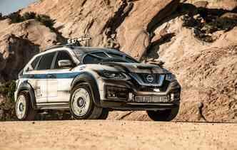 Modelo tem como base o Rogue 2018. Foto: Nissan / Divulgação