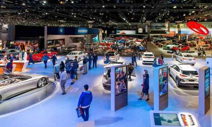Mostra norte-americana cresceu em importância e já revela importantes lançamentos(foto: Los Angeles Auto Show/Divulgação)