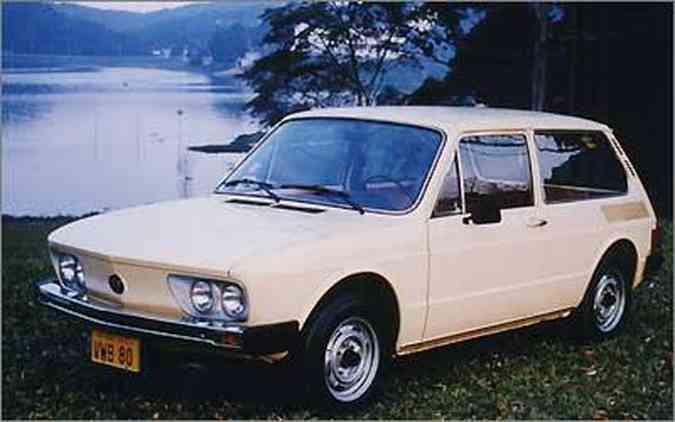 O VW Brasília foi a homenagem mais óbvia dentro da série de modelos(foto: Arquivo EM/D.A. Press)
