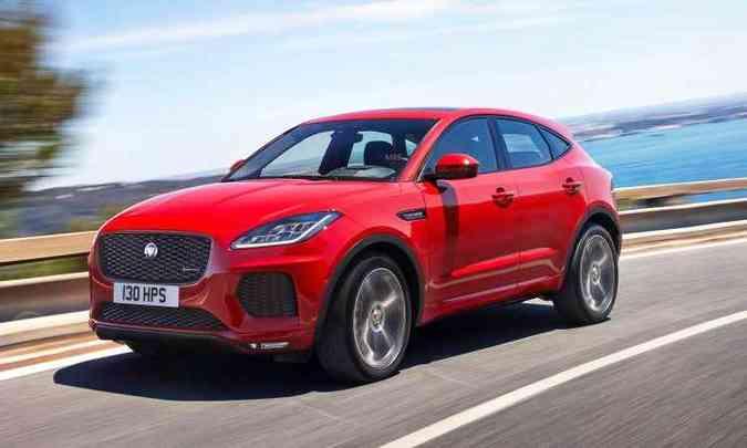 Utilitário-esportivo tem linhas modernas que lembram o F-Type, com formas robustas e aerodinâmicas...(foto: Jaguar/Divulgação)