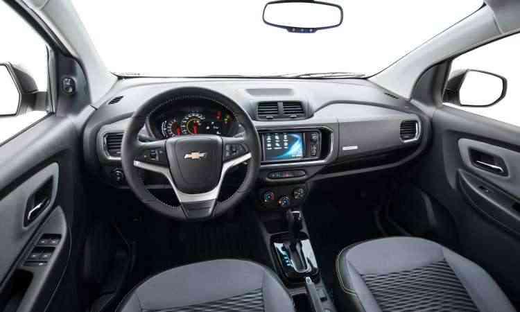 De acordo com o fabricante, o painel foi modificado e o acabamento melhorou de qualidade - Chevrolet/Divulgação