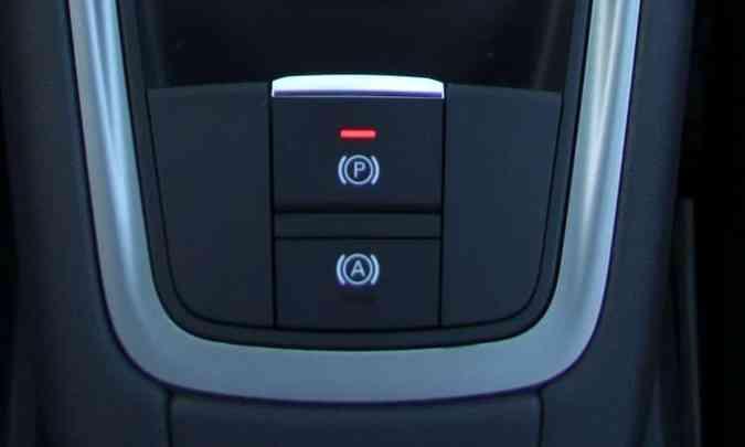 Freio de estacionamento eletrônico(foto: Euler Júnior/EM/D.A Press - 1º/10/12)