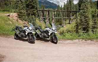 Opção de 800 cc tem seis configurações. Já a 1200 conta com três versões. Foto: Triumph / Divulgação