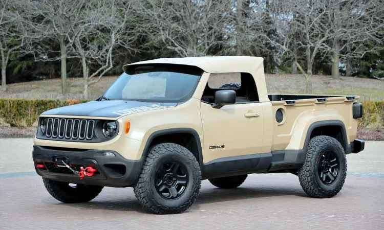 Jeep Comanche - Jeep/Divulgação