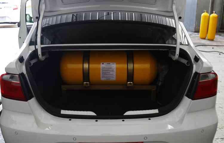 Um empecilho para a instalação é em relação ao espaço ocupado pelo kit no porta-malas  - Marlon Diego / Esp. DP