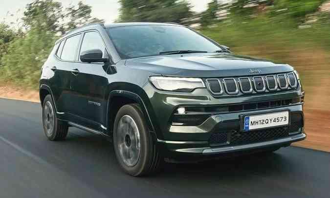 O novo Jeep Compass foi apresentado em novembro do ano passado na China(foto: Jeep/Divulgação)