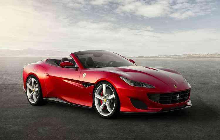 Lançamento da Ferrari, a Portofino, vai de 0 a 100 km/h em 3,5 segundos - Ferrari/Divulgação