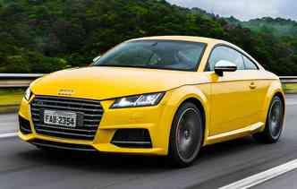 TTS Coupé traz um motor reestilizado(foto: Audi / Divulgação)