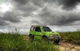Litoral e interior pernambucano são destinos certos dos trilheiros nas expedições de fim de semana(foto: Anderson Malagutti / DP)